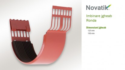 2. Imbinare jgheab RONDA Componente sistem pluvial (otel prevopsit)