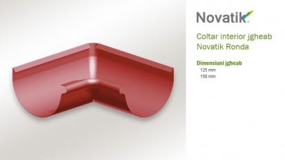 8. Coltar interior jgheab RONDA Componente sistem pluvial (otel prevopsit)