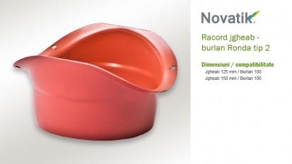 10 Racord tip 2 RONDA Componente sistem pluvial (otel prevopsit)