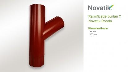 19. Ramificatie burlan Y RONDA Componente sistem pluvial (otel prevopsit)