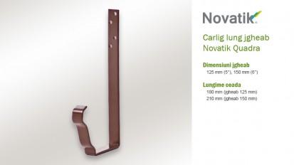4. Carlig lung QUADRA Componente sistem pluvial