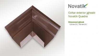 8. Coltar exterior QUADRA Componente sistem pluvial