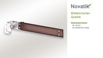 12. Bratara burlan QUADRA Componente sistem pluvial