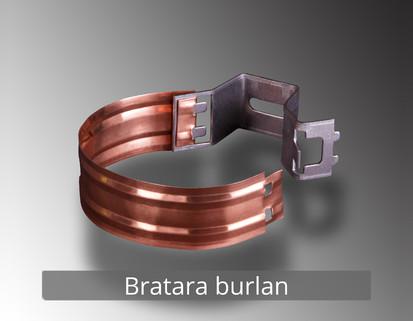 1. Bratara burlan RONDA Componente sistem pluvial (CUPRU)