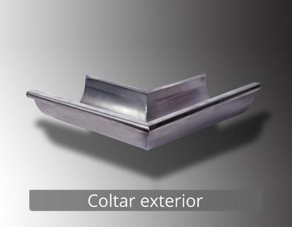 6. Coltar exterior RONDA Componente sistem pluvial (TITAN - ZINC)