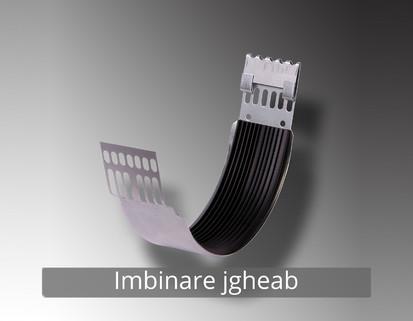 10. Imbinare jgheab RONDA Componente sistem pluvial (TITAN - ZINC)