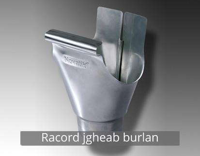12. Racord jgheab burlan RONDA Componente sistem pluvial (TITAN - ZINC)