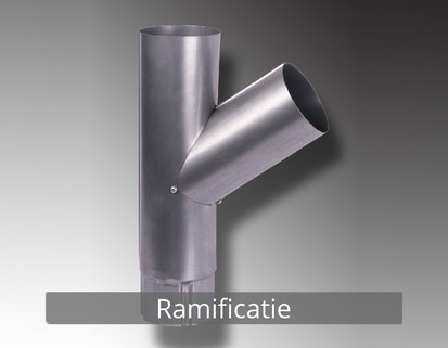 13. Ramificatie RONDA Componente sistem pluvial (TITAN - ZINC)