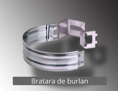 1. Bratara burlan RONDA Componente sistem pluvial (TITAN - ZINC)