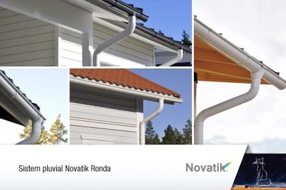 Sistem pluvial Novatik Ronda RONDA, QUADRA Sisteme de jgheaburi si burlane semirotunde si rectangulare