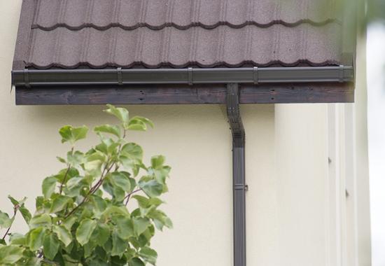 Jgheaburi si burlane semirotunde sau rectangulare pentru sisteme pluviale NOVATIK