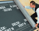 Folie anticondens pentru toate sistemele de acoperisuri DELTA