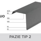 Pazie tip 2 - Tigle metalice  NOVATIK | METAL