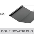 Dolie Novatik DUO - Tigla metalica cu aspect de ardezie sau sindrila NOVATIK | METAL
