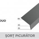 Sort picurator - Tigla metalica cu aspect de ardezie sau sindrila NOVATIK | METAL