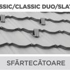 Sfartecatoare - Tigla metalica cu aspect de ardezie sau sindrila NOVATIK | METAL