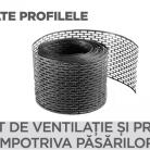 Element de ventilatie si protectie impotriva pasarilor - Tigla metalica cu aspect de ardezie sau sindrila