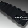Profil Novatik Classic - Black 9005 HIGH C.