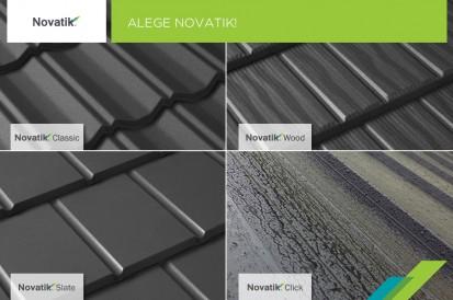Tigle metalice / Acoperis Novatik Classic