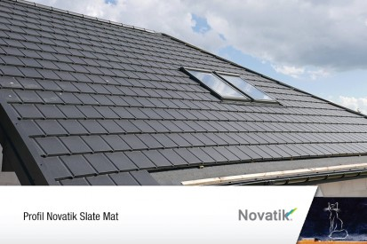 Tigle metalice  / Acoperis Novatik Slate
