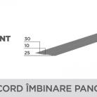 Racord imbinare panouri - Tablă prefălțuită pentru acoperișuri fălțuite NOVATIK | METAL