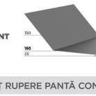 Sort rupere panta concav - Tablă prefălțuită pentru acoperișuri fălțuite NOVATIK | METAL