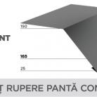 Sort rupere panta convex - Tablă prefălțuită pentru acoperișuri fălțuite NOVATIK | METAL