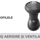 Cos aerisire si ventilatie - Tablă prefălțuită pentru acoperișuri fălțuite NOVATIK | METAL