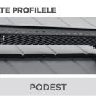 Podest - Tablă prefălțuită pentru acoperișuri fălțuite NOVATIK | METAL