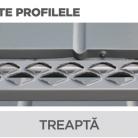 Treapta - Tablă prefălțuită pentru acoperișuri fălțuite NOVATIK | METAL