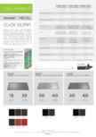 Tablă prefălțuită pentru acoperișuri fălțuite NOVATIK   METAL - Click Silent