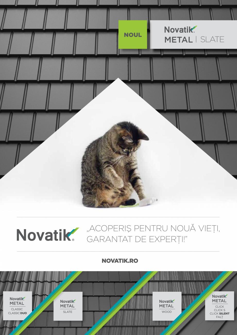 Pagina 1 - Catalog general de produse NOVATIK | METAL Catalog, brosura Romana 1  2  3  4  6  7...