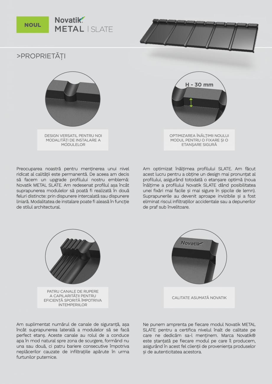 Pagina 5 - Catalog general de produse NOVATIK | METAL Catalog, brosura Romana