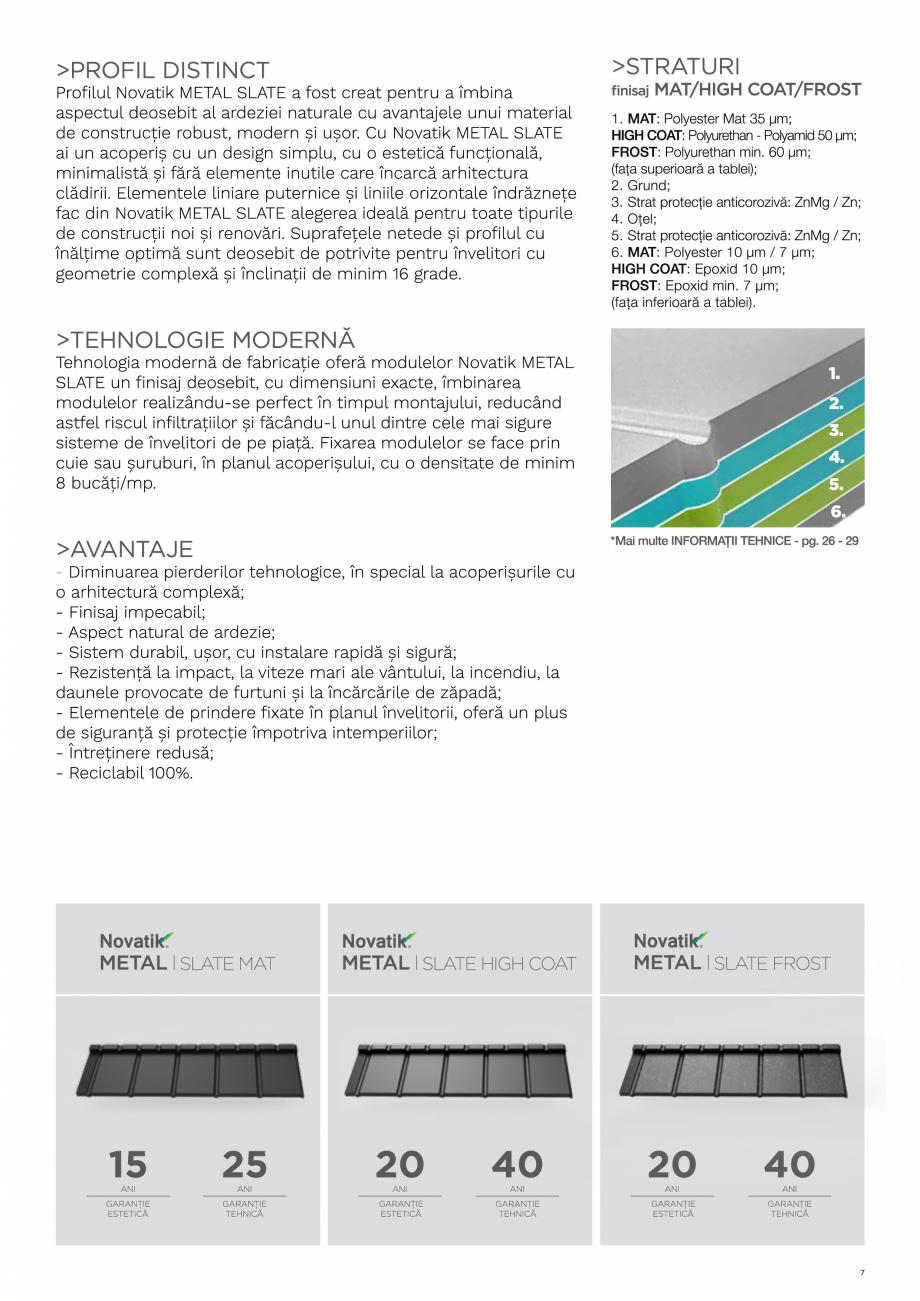 Pagina 7 - Catalog general de produse NOVATIK | METAL Catalog, brosura Romana