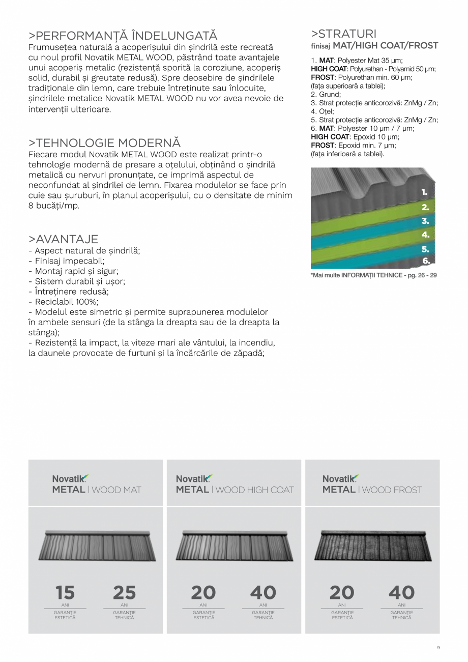 Pagina 9 - Catalog general de produse NOVATIK | METAL Catalog, brosura Romana