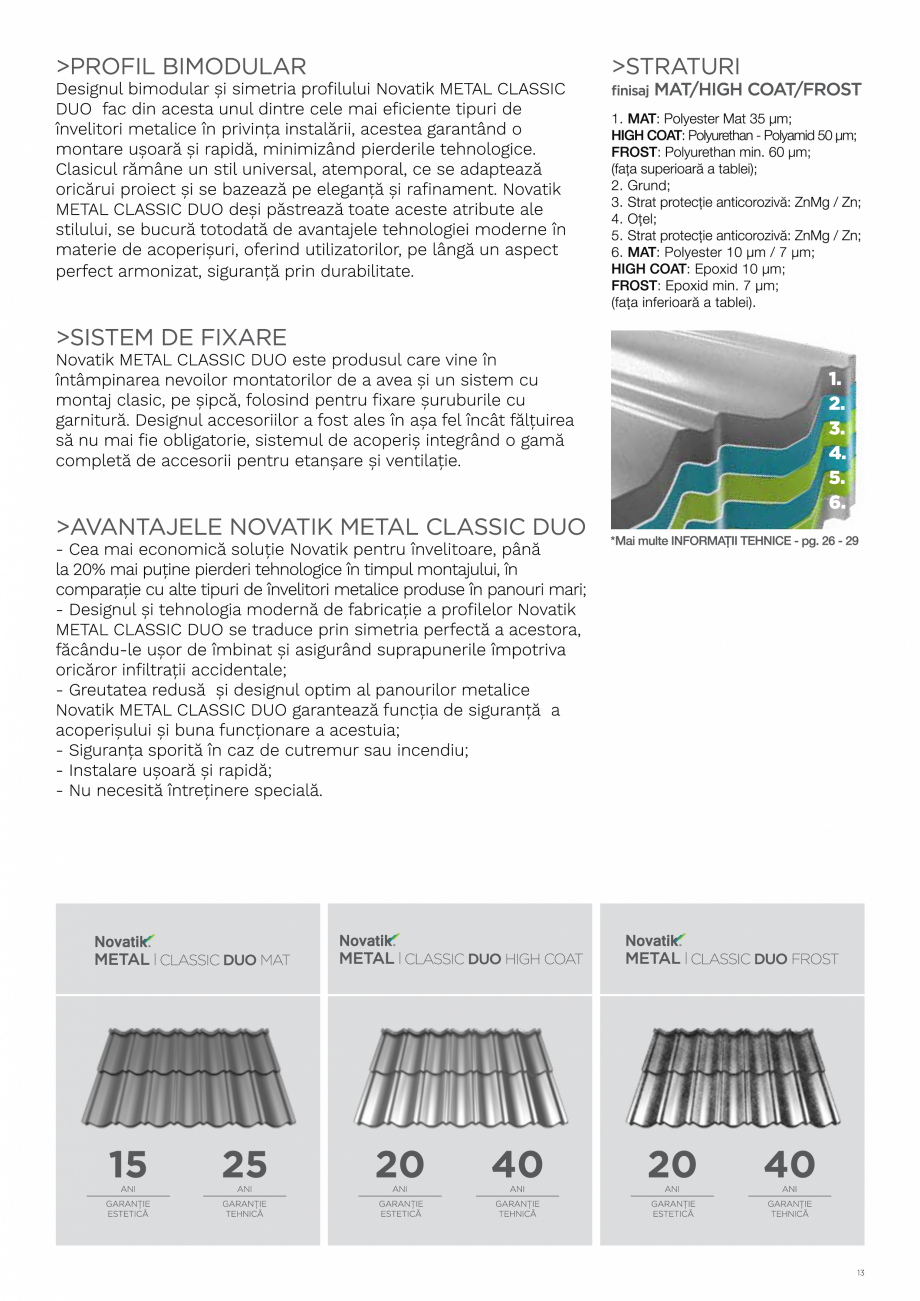 Pagina 13 - Catalog general de produse NOVATIK | METAL Catalog, brosura Romana