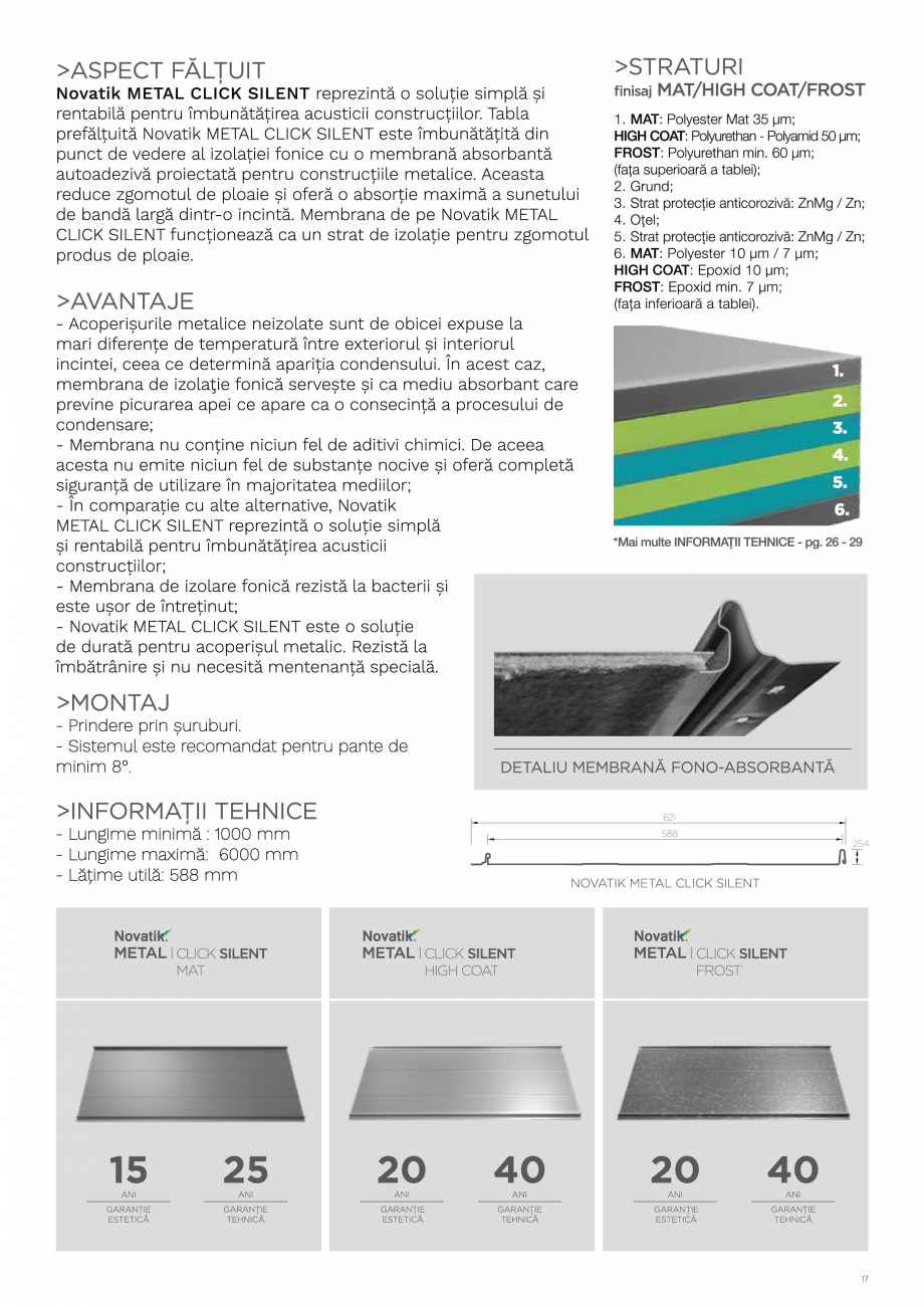 Pagina 17 - Catalog general de produse NOVATIK | METAL Catalog, brosura Romana