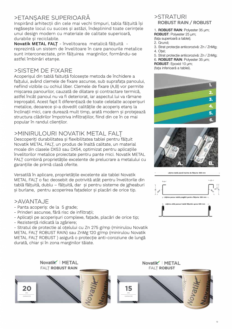 Pagina 19 - Catalog general de produse NOVATIK | METAL Catalog, brosura Romana