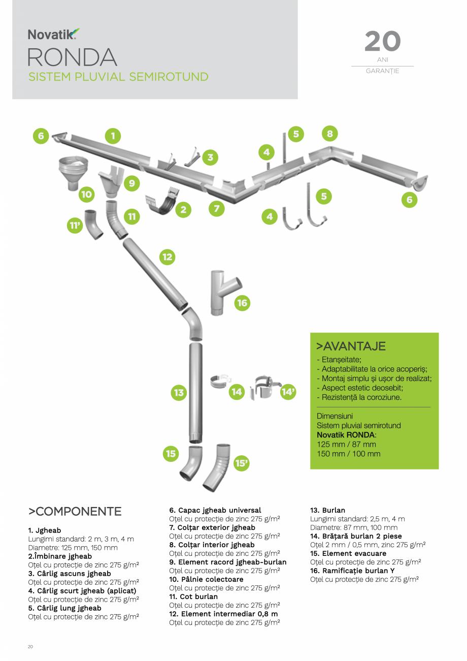 Pagina 20 - Catalog general de produse NOVATIK | METAL Catalog, brosura Romana
