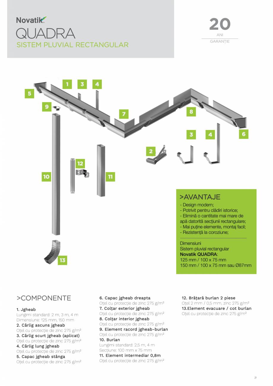 Pagina 21 - Catalog general de produse NOVATIK | METAL Catalog, brosura Romana