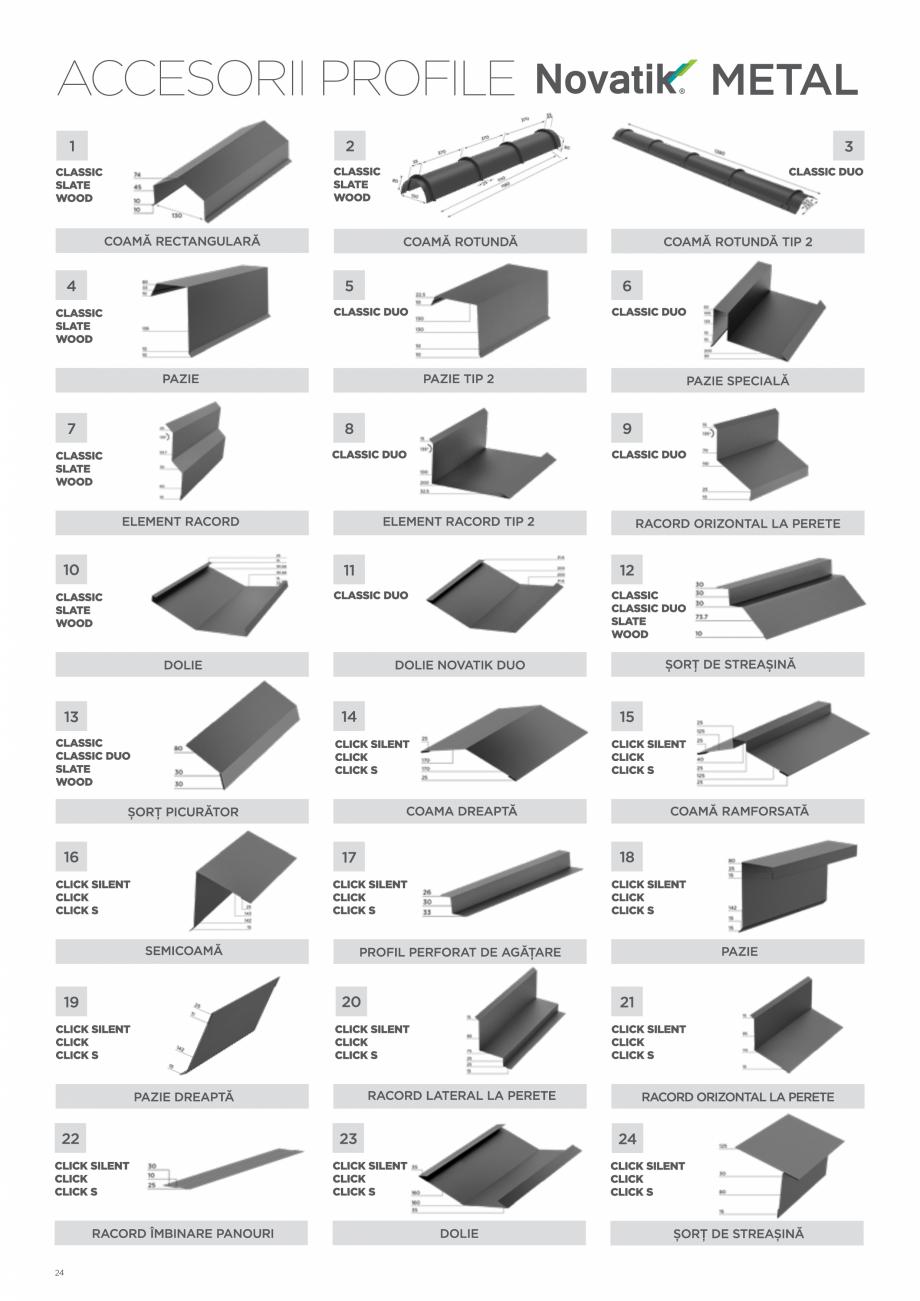 Pagina 24 - Catalog general de produse NOVATIK | METAL Catalog, brosura Romana