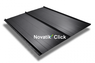 Tablă prefălțuită pentru acoperișuri fălțuite NOVATIK | METAL