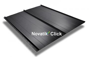 Tabla prefaltuita  Tabla prefaltuita Novatik este o solutie potrivita atat pentru renovari si restaurari, dar si pentru arhitecturi ultra-moderne. Are un aspect plat ireprosabil, o rezistenta deosebita la coroziune.
