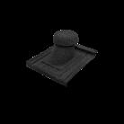 Ventilatie sanitara - Țiglă metalică cu acoperire de rocă vulcanică Novatik NATURA