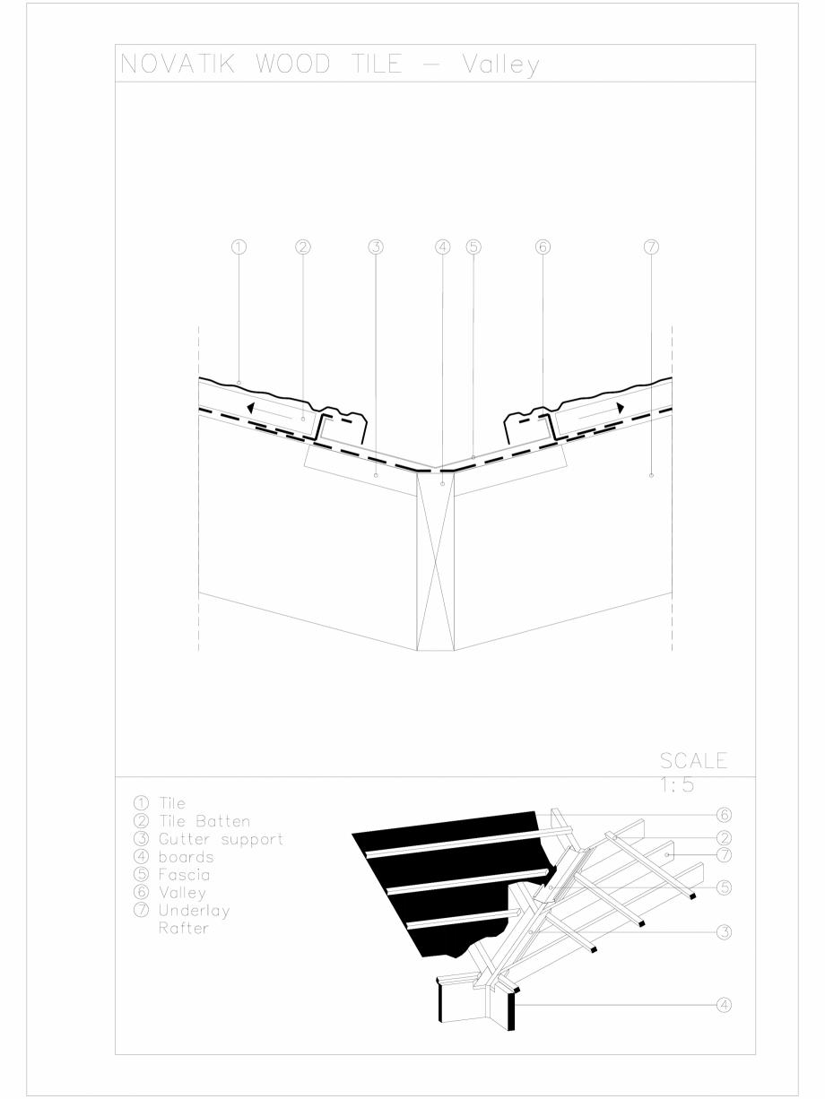 Pagina 1 - CAD-DWG Novatik Wood Tile _ 05 Valley Novatik NATURA Detaliu de produs