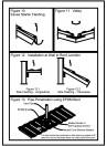 Detalii de strapungere cos, racord cu un perete, dolie, streasina cu burlan colector pentru invelitori din tabla tip tigla