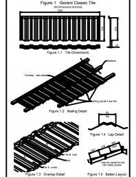 Detaliu de imbinare in camp, invelitori din tabla tip tigla