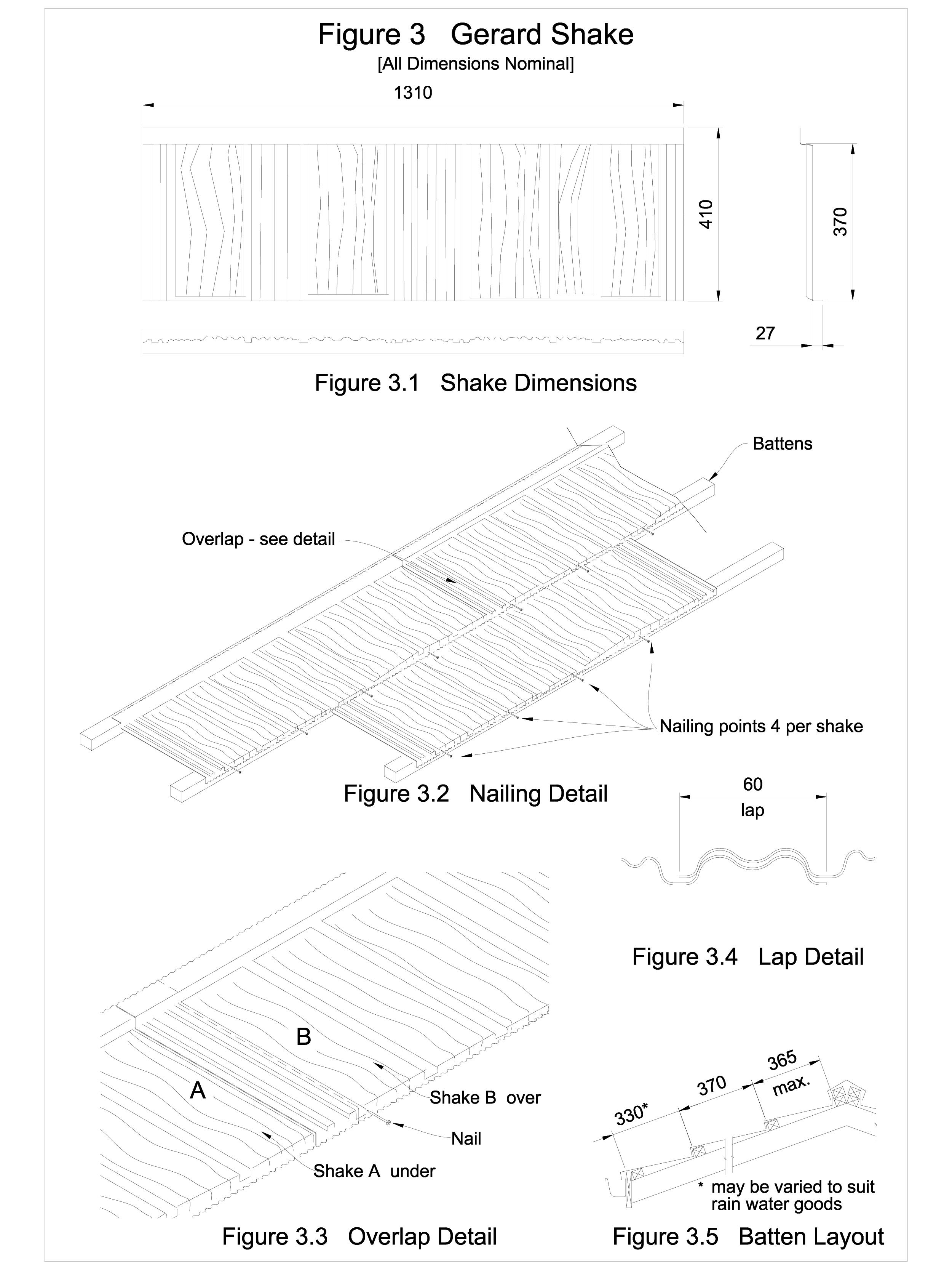 Detaliu de imbinare in camp, invelitori din tabla tip tigla SHAKE GERARD Acoperis cu tigla metalica cu acoperire de piatra naturala FINAL DISTRIBUTION  - Pagina 1