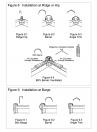 Invelitori de tabla tip tigla, detaliu de coama si de timpan