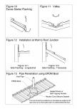 Invelitori de tabla tip tigla detaliu de strapungere scurgere racord cu un perete dolie streasina cu